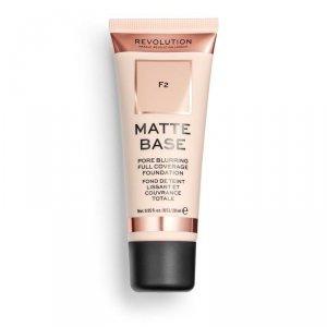 Makeup Revolution Podkład matujący do twarzy Matte Base Foundation F2  28 ml