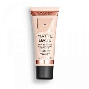 Makeup Revolution Podkład matujący do twarzy Matte Base Foundation F4 28 ml