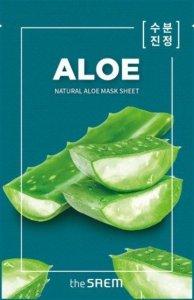The SAEM Natural Mask Sheet Maska na tkaninie Aloe  21ml