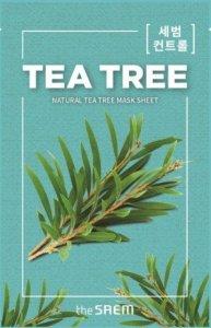 The SAEM Natural Mask Sheet Maska na tkaninie Tea Tree  21ml