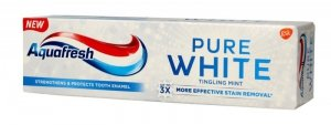 Aquafresh Pure White Pasta do zębów Tingling Mint  75ml