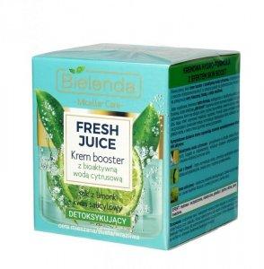 Bielenda Fresh Juice Krem Booster detoksykujący z wodą cytrusową Limonka 50ml