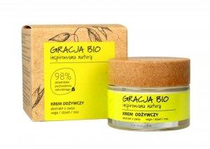 Gracja BIO Krem odżywczy z ekstraktem z owsa na dzień i noc  50ml