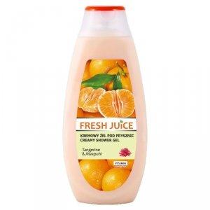 Fresh Juice Kremowy Żel pod prysznic Tangerine & Awapuhi  400ml