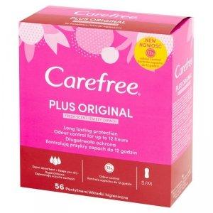 Carefree Plus Original Wkładki higieniczne Fresh Scent - świeży zapach 1op.-56szt