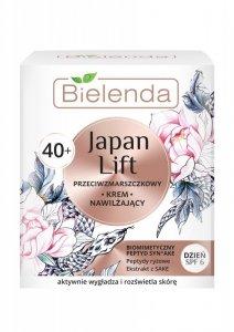 Bielenda Japan Lift 40+ Nawilżający Krem przeciwzmarszczkowy SPF6 na dzień  50ml