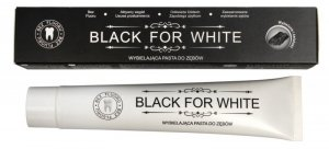 Biomika Black for White Pasta do zębów wybielająca bez fluoru  75ml