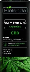 Bielenda Only for Men Cannabis CBD Krem regenerująco-kojący  50ml