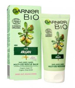 Garnier BIO Multifunkcyjny Krem regenerujący do twarzy,ciała i dłoni - Rich Argan  50ml