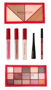 Makeup Revolution Zestaw do makijażu Countdown to NYC 1szt