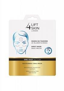 Lift 4 Skin One Shot Action Maska na tkaninie ze śluzem ślimaka  23ml