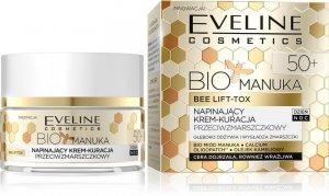 Eveline Bio Manuka 50+ Krem-kuracja napinający przeciwzmarszczkowy na dzień i noc 50ml