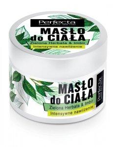 Perfecta Spa Masło do ciała Zielona Herbata & Imbir - intensywne nawilżenie  225g