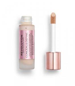 Makeup Revolution Conceal & Define Foundation Podkład kryjący F4  23ml