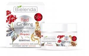 Bielenda Red Ginseng 50+ Przeciwzmarszczkowy Krem liftingujący na dzień i noc 50ml