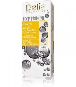 Delia Cosmetics Keep Natural Odżywcze Serum do twarzy na dzień i noc 10ml