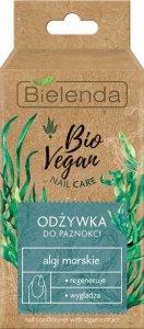 Bielenda Bio Vegan Nail Care Odżywka do paznokci Algi Morskie - regenerująco-wygładzająca 10ml