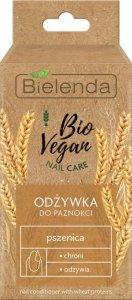 Bielenda Bio Vegan Nail Care Odżywka do paznokci Pszenica - odżywczo-ochronna 10ml
