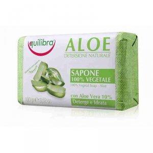Equilibra Aloe Delikatne Mydło aloesowe w kostce 100g