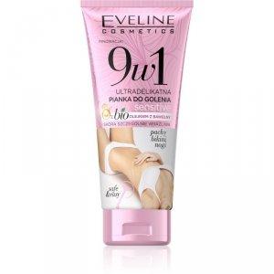 Eveline 9w1 Ultradelikatna Pianka do golenia Sensitive - skóra bardzo wrażliwa  175ml