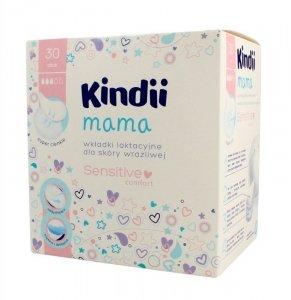 Kindii Mama Wkładki laktacyjne Sensitive Comfort dla skóry wrażliwej  1op.-30szt