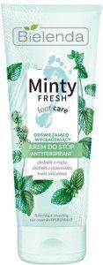 Bielenda Minty Fresh Foot Care Krem antyperspirant do stóp odświeżająco-wygładzający 100ml