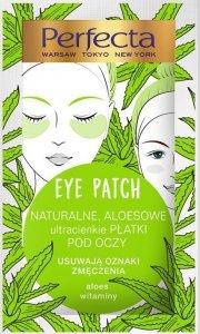 Perfecta Eye Patch Naturalne Aloesowe Płatki pod oczy  1op.-2szt