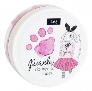 LaQ Pianka do mycia łapek dla dzieci - różowa  50ml