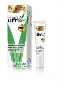 Perfecta Natural Lift 55+/65+ Krem pod oczy i na powieki Redukcja Zmarszczek-rozjaśnienie cieni 15ml