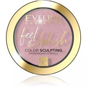 Eveline Feel the Blush Róż do policzków nr 01 Peony  1szt