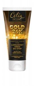 Celia Gold 24K Luksusowy Krem do stóp  80ml