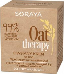 Soraya Oat Therapy Owsiany Krem na noc - cera wrażliwa 50ml