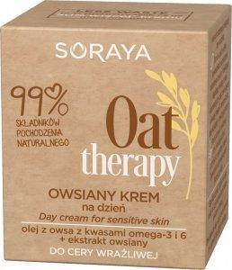 Soraya Oat Therapy Owsiany Krem na dzień - cera wrażliwa 50ml