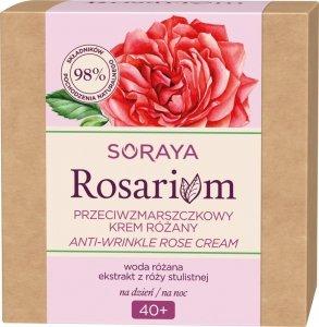 Soraya Rosarium Różany Krem przeciwzmarszczkowy 40+ na dzień i noc 50ml