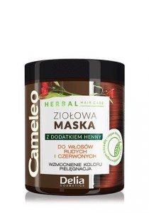 Delia Cosmetics Cameleo Herbal Maska Ziołowa do włosów rudych i czerwonych 250ml