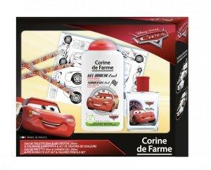 Corine de Farme Disney Zestaw prezentowy Cars (woda toaletowa 50ml+żel p/pr.250ml+kredki i kolorowanka)