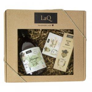 LaQ Zestaw prezentowy dla mężczyzn Dzik (szampon 300ml+olejek 30ml+mydło kostka 85g) 1op.