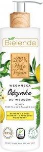 Bielenda 100% Pure Vegan Wegańska Odżywka do włosów przetłuszczających się 240ml