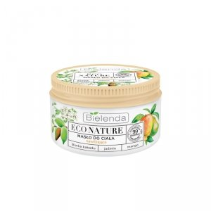 Bielenda Eco Nature Masło do ciała nawilżające - Śliwka Kakadu & Jaśmin & Mango 250ml