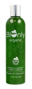 BIOnly Organic Szampon do włosów odżywczy z olejem makowym 300ml