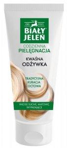 Biały Jeleń Codzienna Pielęgnacja Odżywka do włosów kwaśna - włosy matowe,suche i wypadające 200ml