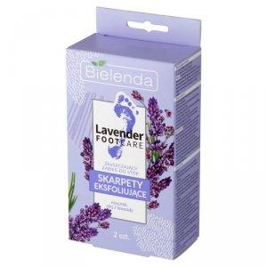 Bielenda Lavender Foot Care Skarpety eksfoliujące - zabieg złuszczający do stóp  1para