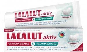 Lacalut Pasta do zębów Activ&Sensitiwe ochrona dziąseł&nadwrażliwość 75ml