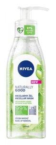 Nivea Naturally Good Żel micelarny z organicznym aloesem  140ml
