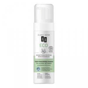 AA Eco Certyfikowana Pianka do higieny intymnej - bioaktywna ochrona przeciwzapalna  150ml