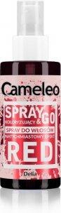 DELIA*CAMELEO Spray&Go CZERWIEŃ spray kolor.150ml