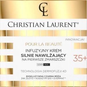 Christian Laurent 35+ Infuzyjny Krem silnie nawilżający na pierwsze zmarszczki na dzień i noc 50ml