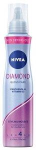 Nivea Hair Care Styling Pianka do włosów Diamond Gloss Care  150ml