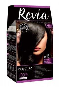 Verona Farba do włosów nr 15 HEBANOWA CZERŃ  50ml