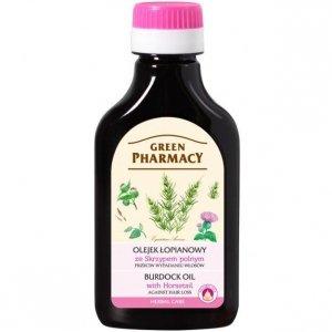 Green Pharmacy Olejek łopianowy ze Skrzypem polnym, przeciw wypadaniu włosów